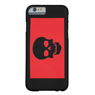 Red/Black Skull Barely There iPhone 6 Case