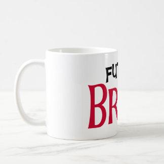 Red/Black Text Future Bride Classic White Coffee Mug