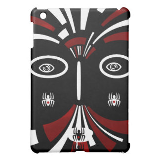 Red Black Tribal Abstract Art Case For The iPad Mini