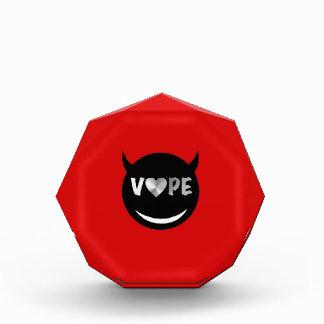 Red Black Vape Heart Rebel Award