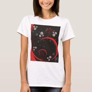 Red & Black Whimsy T-Shirt