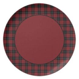 Red Black White Plaid Tartan Melamine Plate  sc 1 st  Zazzle & Northwoods Plates | Zazzle