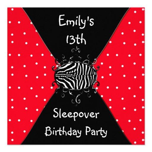 Invitations For Sleepover was luxury invitation ideas