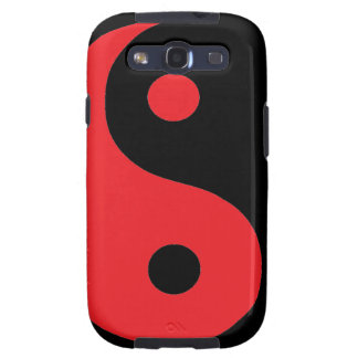 Red & Black Yin Yang Samsung Galaxy S3 Cases