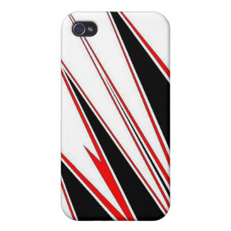 Red black zig I-phone case iPhone 4/4S Cover