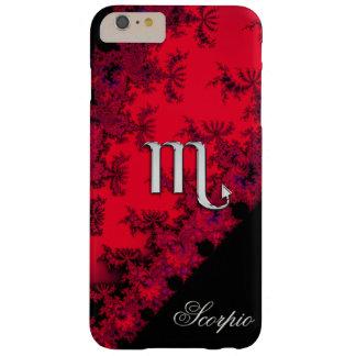 Red Black  Zodiac Sign Scorpio iPhone 6 Plus Case