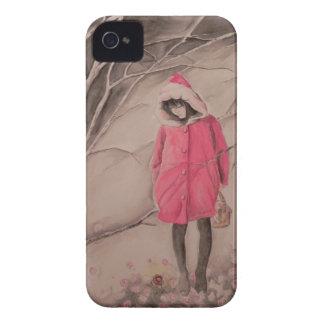 Red blackberry bold Case