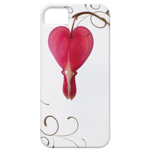 Red Bleeding Heart iPhone 5 Case-Mate