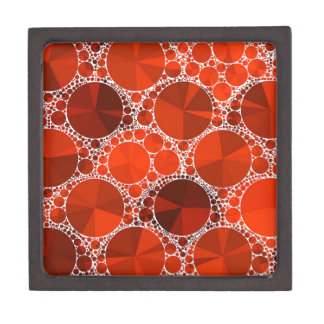 Red Bling Jewelry Box