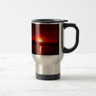 red bliss travel mug