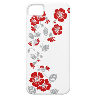 red blooms iPhone SE/5/5s case