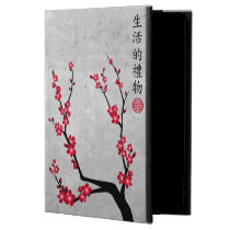 """Red blossom delight """"Gift of life"""" Powis iPad Air 2 Case"""