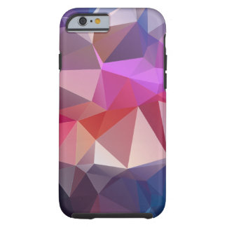 Red Blue Abstract Pyramid Art Tough iPhone 6 Case