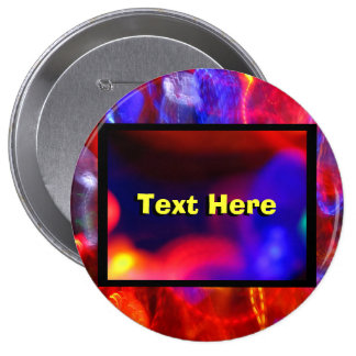 Red Blue And Yellow Pinback Button
