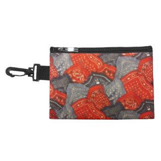 Red & Blue Bandanas Accessory Bag