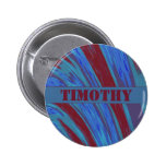 Red Blue Color Swish Button