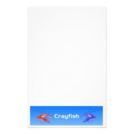 red&blue de los cangrejos (cangrejos)  papeleria de diseño