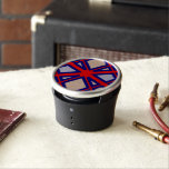 """Red &amp; Blue Diamond Flower Bumpster Speaker<br><div class=""""desc"""">Cute Red &amp; Blue Diamond Flower Bumpster Speaker,  cool look,  classic and modern with a stylish pattern,  you can customize it.</div>"""