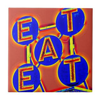 red/blue eat tile