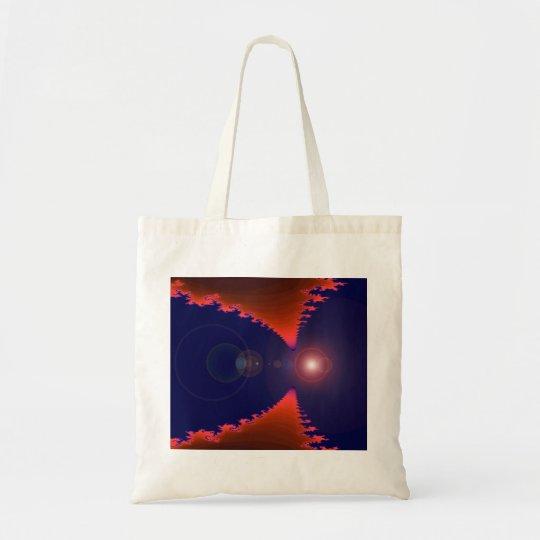 Red & Blue Fractal Hag Bag