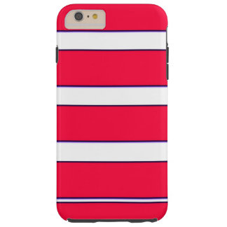 Red Blue Fractal iPhone 6/6s Plus Case