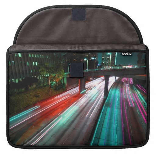 Red Blue Green And Purple Freeway Sleeves For MacBooks