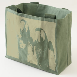 Red Blue Green Macaws (Parrots) Tote