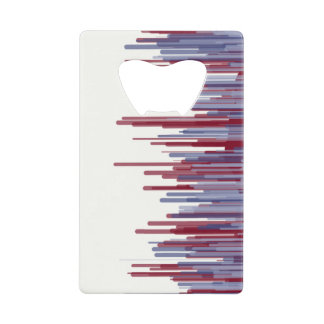 Red Blue Line Card Opener
