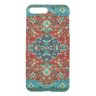 Red & Blue Persian Carpet Motive iPhone 8 Plus/7 Plus Case