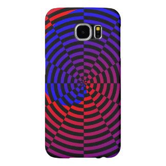 Red & Blue Spiral Samsung Galaxy S6 Case