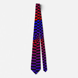 Red & Blue Spiral Tie