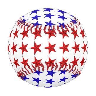 Red Blue Stars Baseball