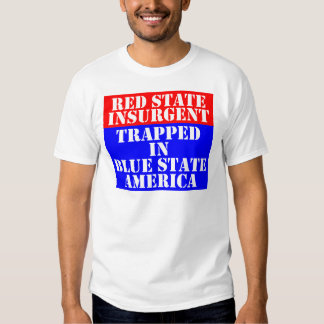 red-blue-state t-shirt