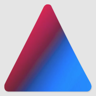Red Blue Triangle Stickers