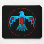 Red & Blue Thunderbird Mousepad
