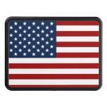 red blue USA flag Hitch Covers