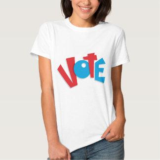 Red & Blue Vote T-shirt