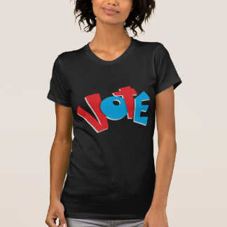 Red & Blue Vote Tee Shirt