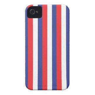 Red Blue White Blackberry Bold Case