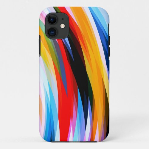 Red Blue Yellow Black Phone Case