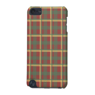 Red Blue Yellow Plaid iPod Touch (5th Generation) Cover