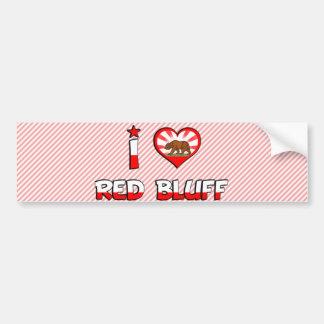 Red Bluff, CA Car Bumper Sticker