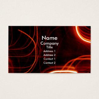 Red Blur Business Card