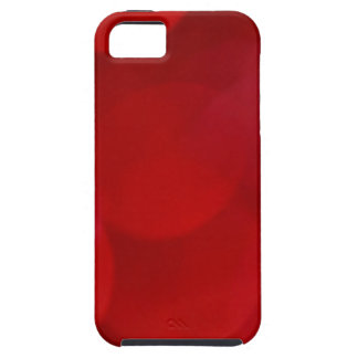Red Blurred Lights iPhone 5 Cover