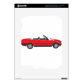 Red BMW Skins For iPad 3