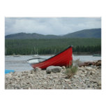 Red Boat Waiting ... Poster