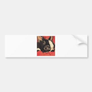 Red Boaton Close up Bumper Sticker