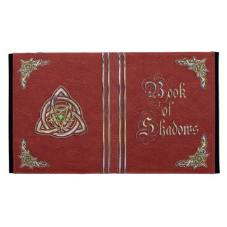 Red Book of Shadows iPad Folio Covers