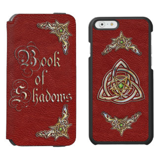 Red Book of Shadows iPhone 6/6s Wallet Case