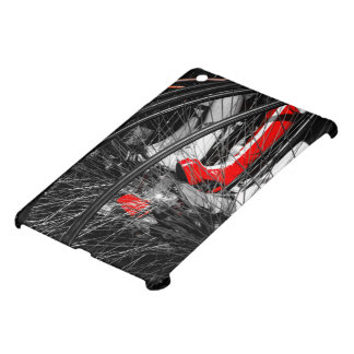 Red Boot in Penny Farthing Stack iPad Mini Cases